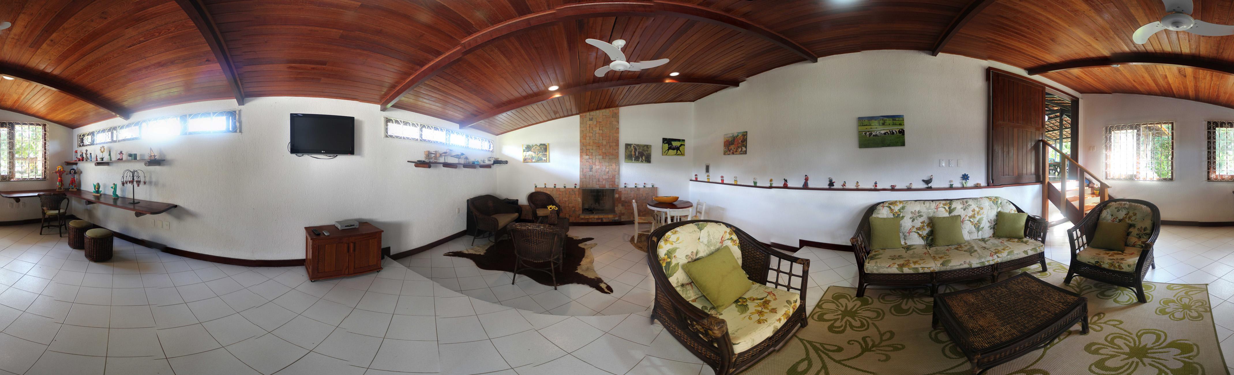Sala de TV - Fazenda Hotel Candeal